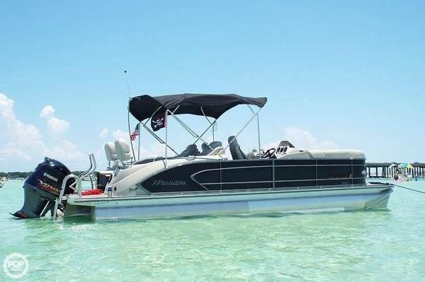 Used Manitou 25 SHP Pontoon Boat For Sale