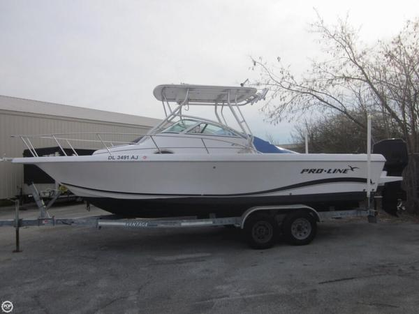 Used Pro-Line 25 WA Walkaround Fishing Boat For Sale