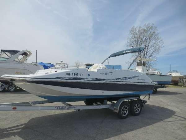 Used Hurricane Boats SS 202 IOSS 202 IO Deck Boat For Sale