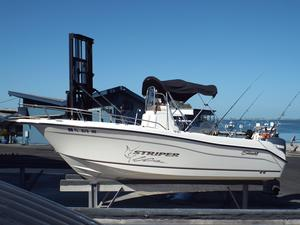 Used Seaswirl Striper 2101 Center Console O/B Freshwater Fishing Boat For Sale