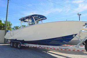 New Cobia Boats 344CC Center Console Fishing Boat For Sale