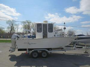 Used Cape Horn 19 CC Center Console Fishing Boat For Sale