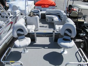 New Apex Marine Qwest Edge 816C Pontoon Boat For Sale