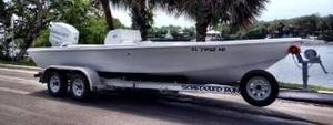Used Wji Custom Flats 03 Mercury Low Hours Center Console Fishing Boat For Sale