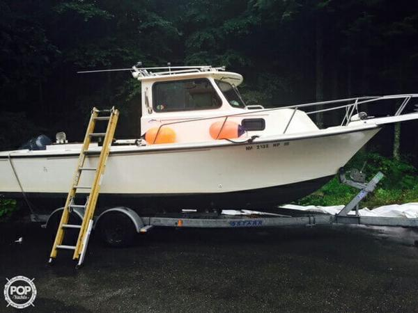 Used Parker Marine 2320 Pilothouse Boat For Sale