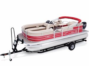New Sun Tracker PARTY BARGE 20 DLX Pontoon Boat For Sale