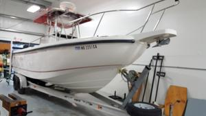 Used Boston Whaler 260 Outrage Saltwater Fishing Boat For Sale