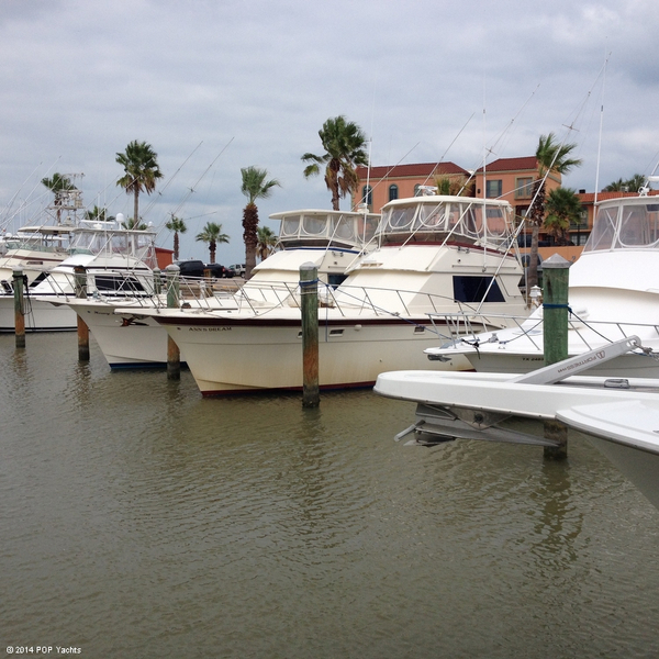 Used Hatteras 46 Sportfish Convertible Sports Fishing Boat For Sale