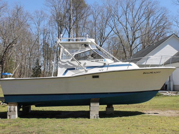 Used Topaz Fishing Cruiser Boat For Sale