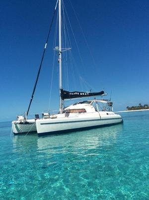 Used Fountaine Pajot Antigua 37 Catamaran Sailboat For Sale