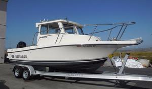Used Defiance 220 Admiral EX Saltwater Fishing Boat For Sale