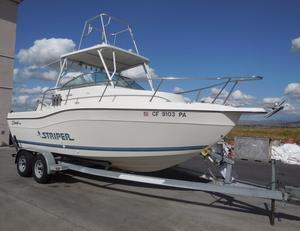 Used Striper 2100 Walkaround Fishing Boat For Sale