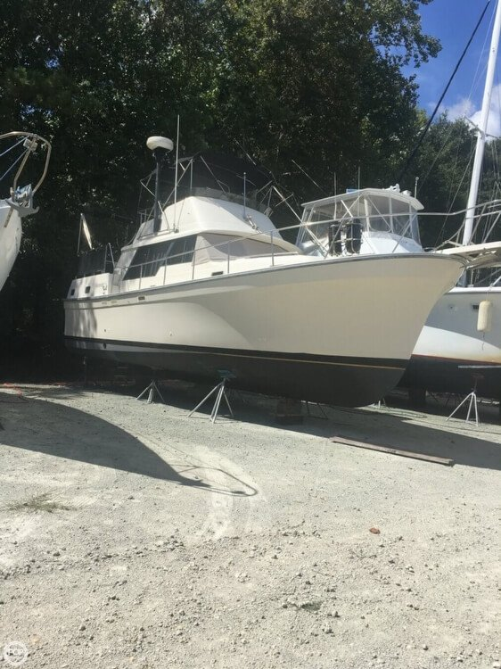 Used Mainship 36 Nantucket Trawler Boat For Sale