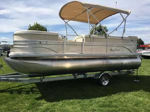New Sunchaser Classic 8520 Cruise EXP Pontoon Boat For Sale