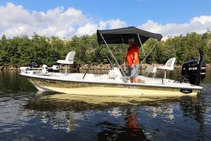 Used Dusky Marine 18R Flats Fishing Boat For Sale