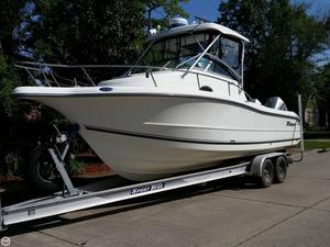 Used Triton 2690 Walk Around Walkaround Fishing Boat For Sale