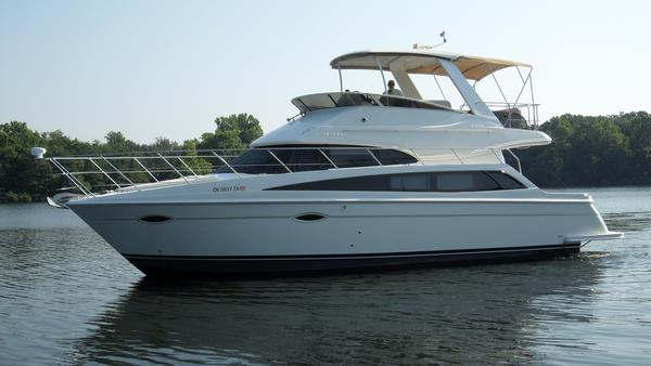Used Carver Yachts 43 SS Flybridge Boat For Sale