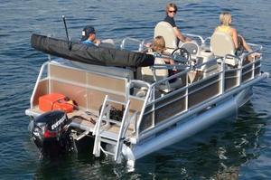 New Misty Harbor Boats E-1470EF Pontoon Boat For Sale