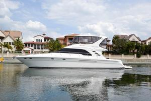Used Sea Ray 560 Sedan Bridge Sports Cruiser Boat For Sale