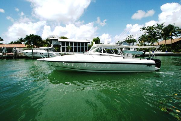 Used Intrepid 377 Walkaround Sports Fishing Boat For Sale