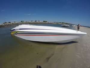 Used Sonic 358 High Performance Boat For Sale