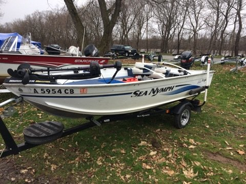 Used Sea Nymph 140BT Sports Fishing Boat For Sale