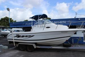 Used Cobia Boats Walkaround Fishing Boat For Sale