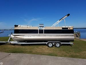 Used Cypress Cay Cabana 220 Pontoon Boat For Sale