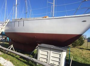 Used Prairie Boat Works 32 Cutter Sailboat For Sale
