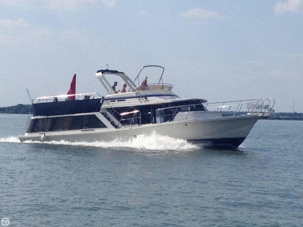 1987 Used Bluewater 51 Coastal Cruiser Boat For Sale