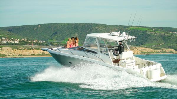 Used Sunseeker Sportfisher 37 Saltwater Fishing Boat For Sale