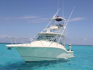 Used Scout Boats 350 Abaco Express Cruiser Boat For Sale