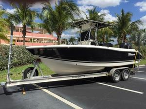 Used Triton 2286 CC Saltwater Fishing Boat For Sale