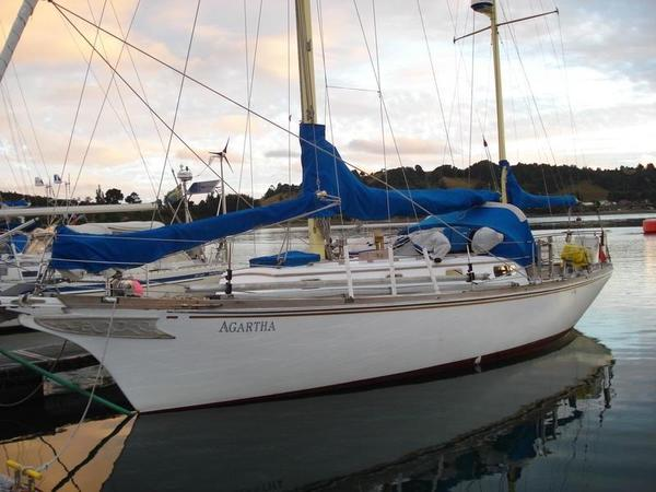 Used Fuji 35 Ketch Sailboat For Sale