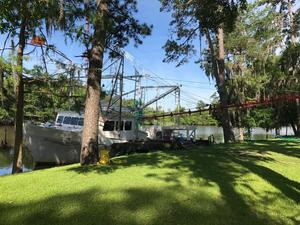 Used Lafitte Skiff Terrebonne 58 Trawler Boat For Sale