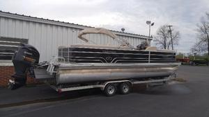 Used Veranda Relax V2575RC Pontoon Boat For Sale