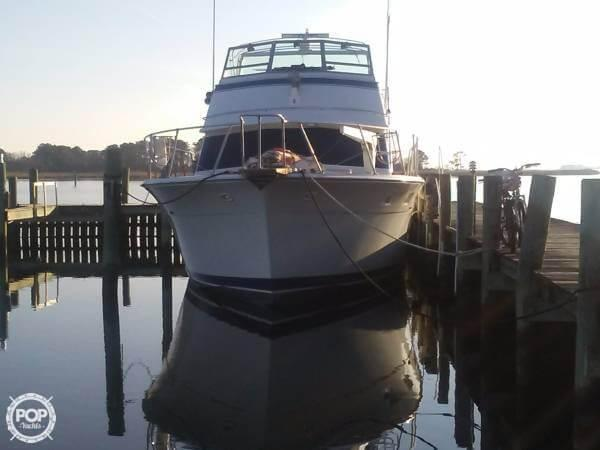 Used Bertram 58 Convertible Sports Fishing Boat For Sale