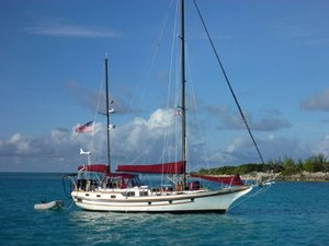 Used Bluewater Yachts Vagabond Center Cockpit Sailboat For Sale