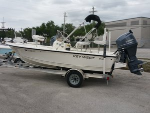 Used Key West 176 Bay Reef Bay Boat For Sale