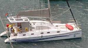 Used Island Spirit 401 Catamaran Sailboat For Sale