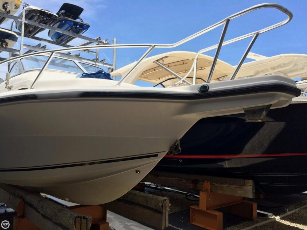 2004 used angler 2100 walkaround fishing boat for sale for Angler fish for sale