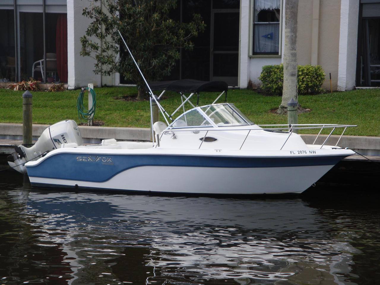 2008 used sea fox 216wa pro series saltwater fishing boat for Saltwater fishing boats for sale