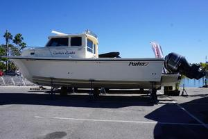 Used Parker Marine 3420 Saltwater Fishing Boat For Sale