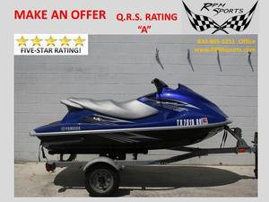 Used Yamaha Waverunner wave runner vx deluxe Personal Watercraft For Sale