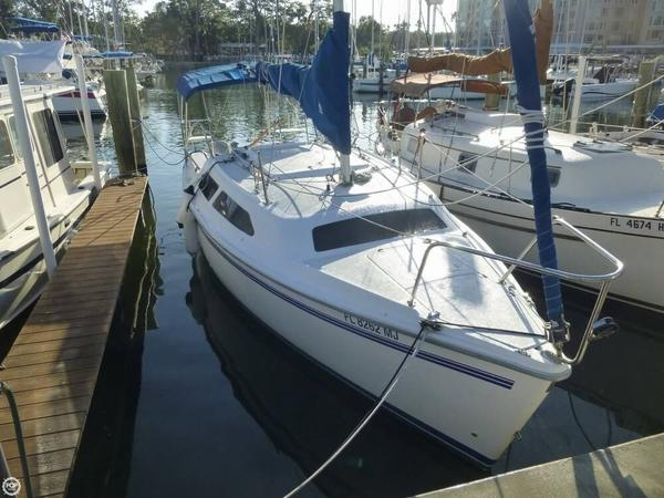 Used Catalina 250 Water Ballast Sloop Sailboat For Sale