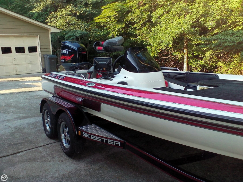 2005 Used Skeeter ZX225 Bass Boat For Sale - $22,500 ...