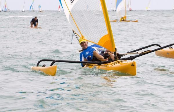 Used Hobie Cat Trimaran Sailboat For Sale