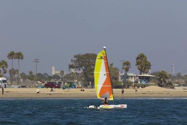 New Hobie Cat Beach Catamaran Sailboat For Sale