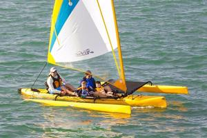 New Hobie Cat Beach Catamaran Sailboat For Sale