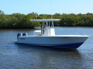 Used Contender 25 TE Center Console Fishing Boat For Sale